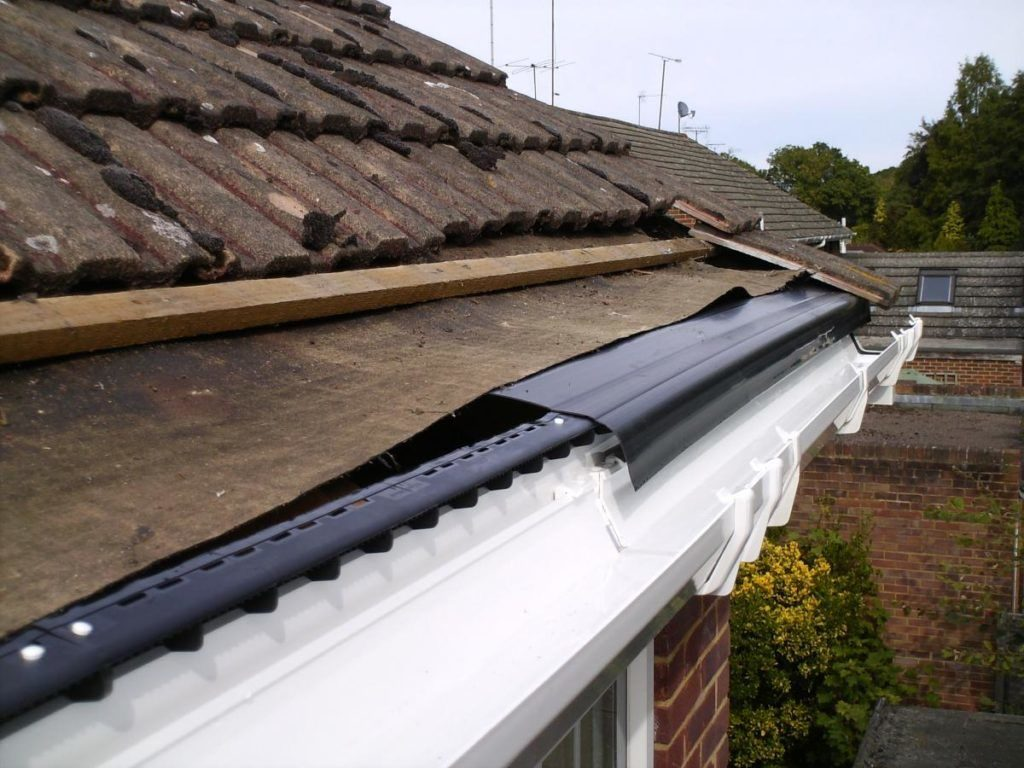 Felt Damaged on Roof